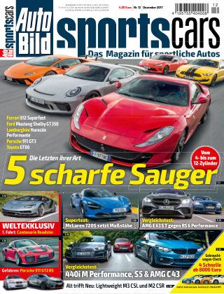 AUTO BILD Sportscars NR.012 2017