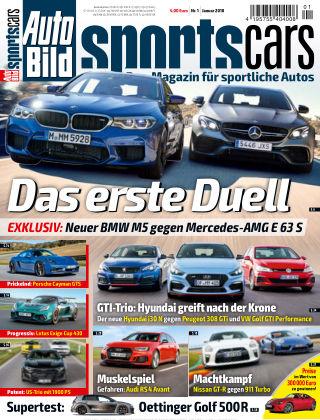 AUTO BILD Sportscars NR.001 2018