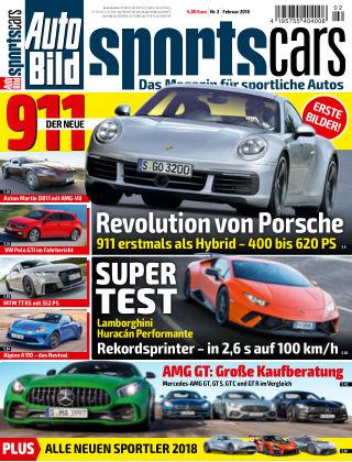 AUTO BILD Sportscars NR.002 2018