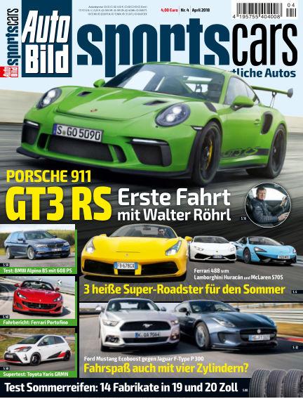 AUTO BILD Sportscars March 09, 2018 00:00
