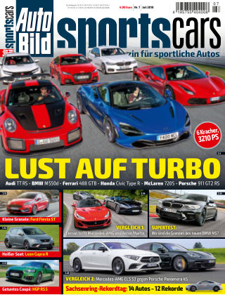 AUTO BILD Sportscars NR.007 2018