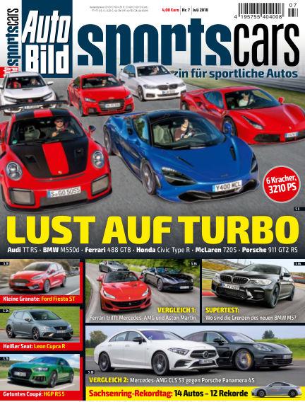 AUTO BILD Sportscars June 08, 2018 00:00