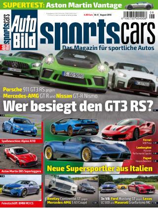 AUTO BILD Sportscars NR.008 2018