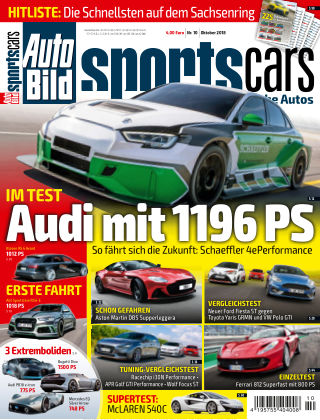 AUTO BILD Sportscars NR.010 2018