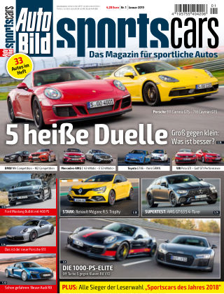 AUTO BILD Sportscars NR.001 2019