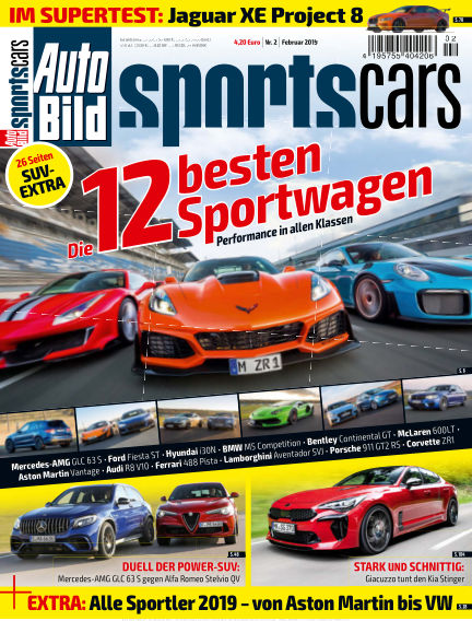 AUTO BILD Sportscars January 11, 2019 00:00