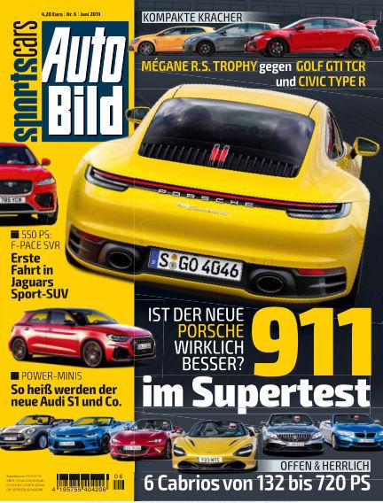 AUTO BILD Sportscars May 10, 2019 00:00