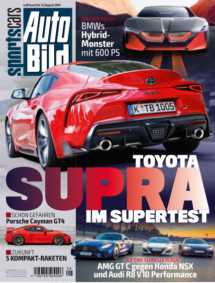 AUTO BILD Sportscars July 12, 2019 00:00
