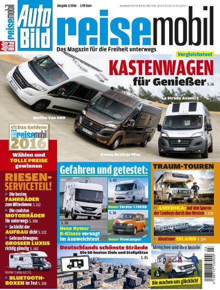 AUTO BILD reisemobil May 13, 2016 00:00