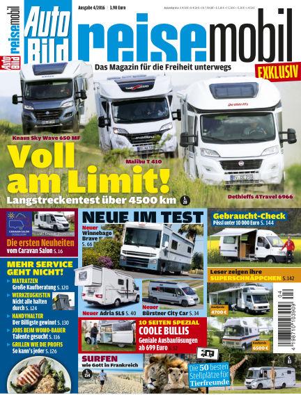 AUTO BILD reisemobil July 01, 2016 00:00