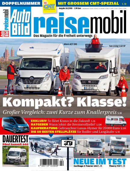 AUTO BILD reisemobil January 05, 2018 00:00