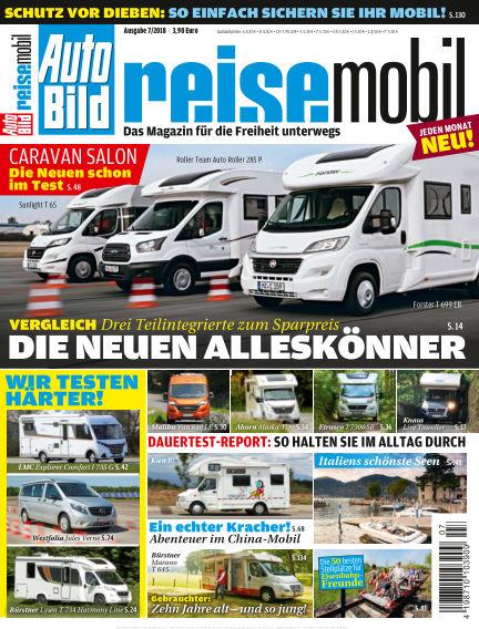 AUTO BILD reisemobil July 13, 2018 00:00