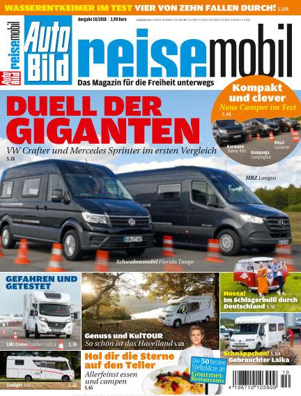 AUTO BILD reisemobil October 12, 2018 00:00