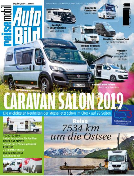 AUTO BILD reisemobil August 09, 2019 00:00