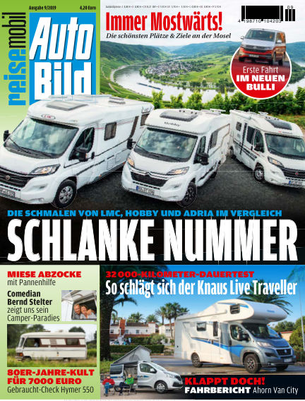 AUTO BILD reisemobil September 06, 2019 00:00