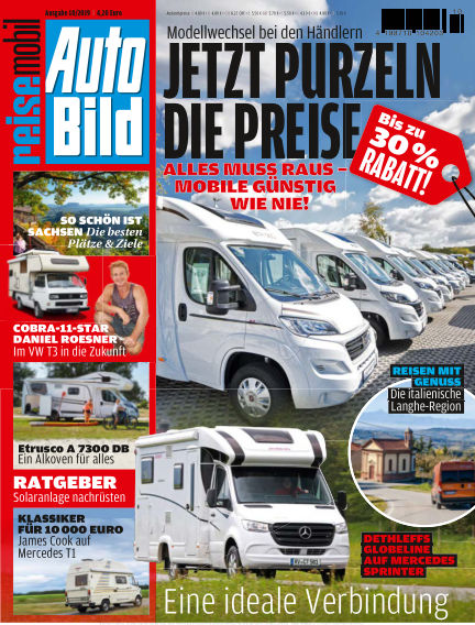 AUTO BILD reisemobil October 11, 2019 00:00