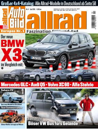 AUTO BILD ALLRAD NR.004 2018