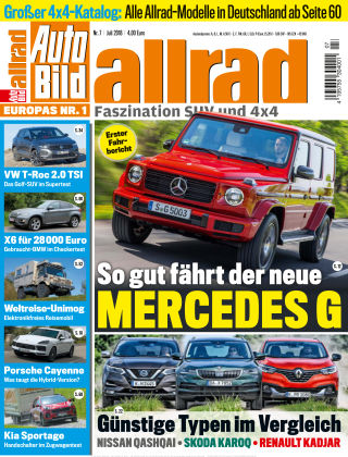 AUTO BILD ALLRAD NR.007 2018