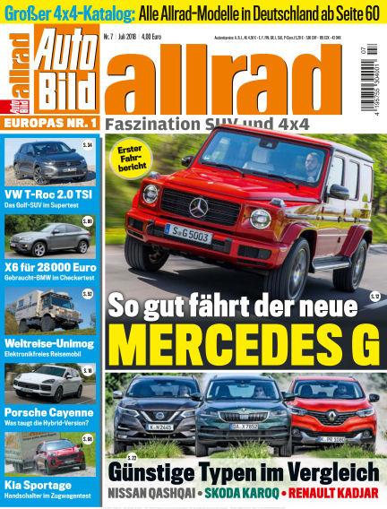 AUTO BILD ALLRAD June 08, 2018 00:00