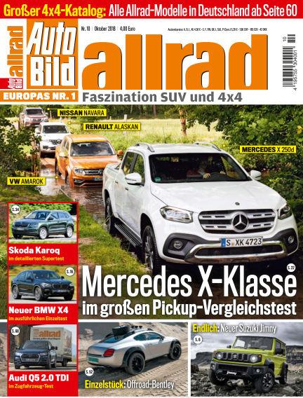AUTO BILD ALLRAD September 07, 2018 00:00