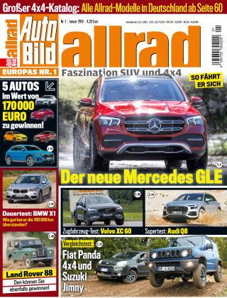 AUTO BILD ALLRAD NR.001 2019