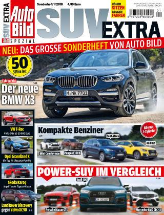 AUTO BILD Sonderhefte SUV Extra 2018