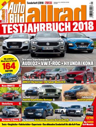 AUTO BILD Sonderhefte ALLRAD Jahrbuch 2018