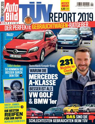 AUTO BILD Sonderhefte TÜV Report 2019