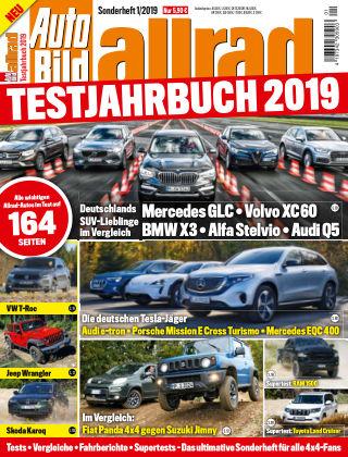 AUTO BILD Sonderhefte ALLRAD Jahrbuch 2019