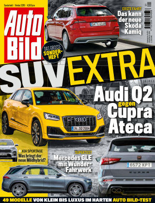 AUTO BILD Sonderhefte SUV Extra 2019
