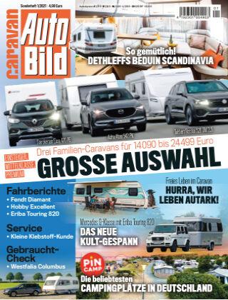 AUTO BILD Sonderhefte Caravan NR.001 2021