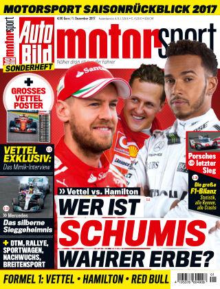 AUTO BILD motorsport Sonderheft 2018