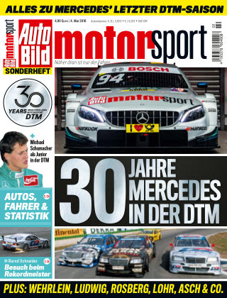 AUTO BILD motorsport NR.001 2018