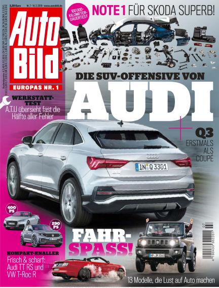 AUTO BILD Österreich February 14, 2019 00:00