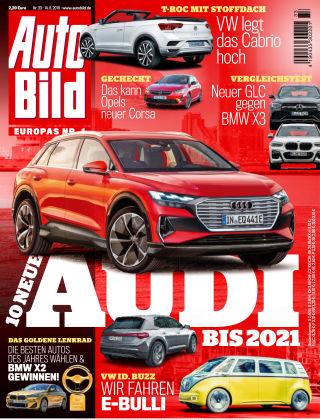 AUTO BILD Österreich NR.033 2019