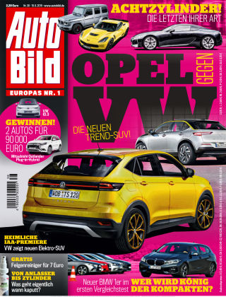 AUTO BILD Österreich NR.038 2019