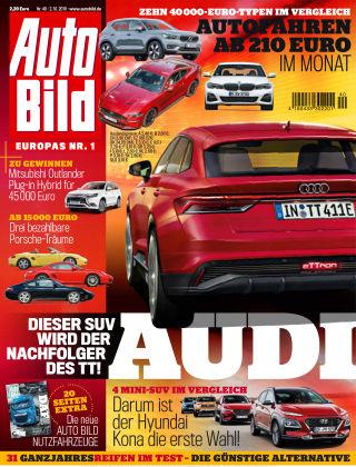 AUTO BILD Österreich NR.040 2019