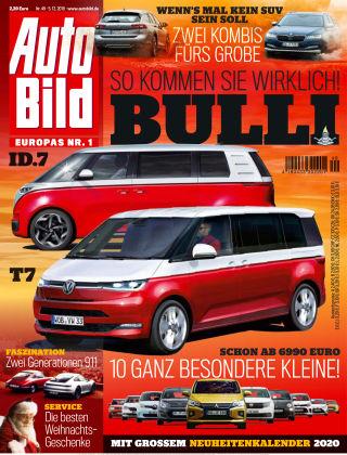 AUTO BILD Österreich NR.049 2019