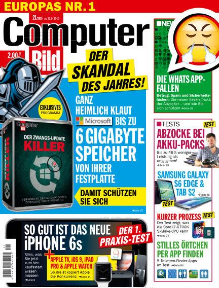 COMPUTER BILD September 26, 2015 00:00