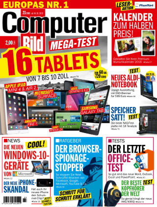 COMPUTER BILD NR.023 2015