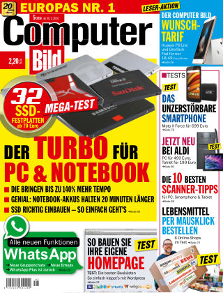 COMPUTER BILD NR.005 2016