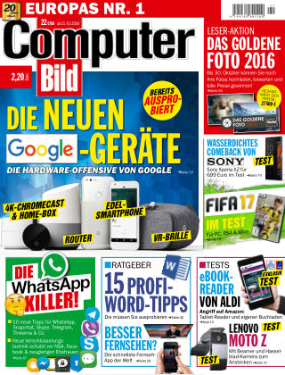 COMPUTER BILD NR.022 2016
