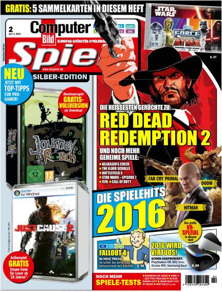 COMPUTER BILD SPIELE January 06, 2016 00:00