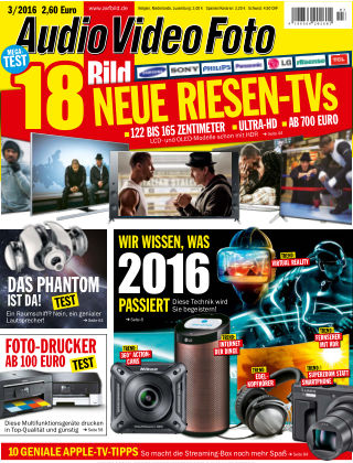 AUDIO VIDEO FOTO BILD NR.003 2016
