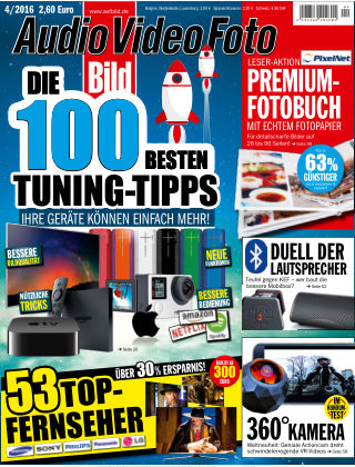 AUDIO VIDEO FOTO BILD NR.004 2016