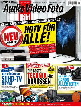 AUDIO VIDEO FOTO BILD NR.008 2016