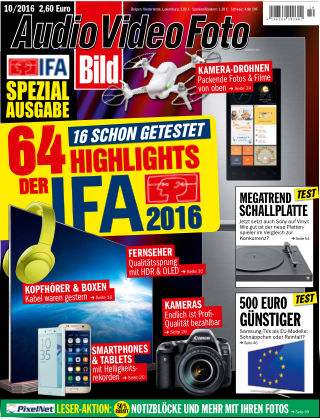 AUDIO VIDEO FOTO BILD NR.010 2016
