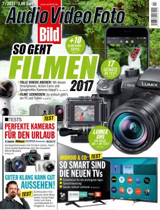 AUDIO VIDEO FOTO BILD NR.007 2017