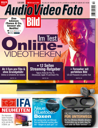 AUDIO VIDEO FOTO BILD NR.010 2019