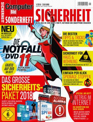 COMPUTER BILD Sonderhefte Sicherheit 01 2018